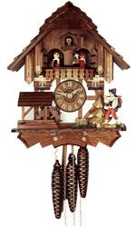 Часы с кукушкой ручной работы