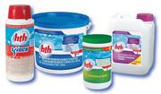 Химия для бассейна,  уничтожение бактерий,  вирусов,  грибков.