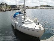 Продам шведскую парусную яхту Albin Viggen 23 1977 года.