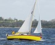 9 м парусная яхта с новым дизельным двигателем