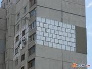 Фасадные работы: утепление фасадов коттеджей,  промальпинизм.