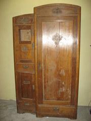 Шкаф-гардероб под реставрацию