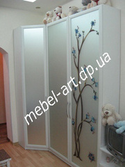 Шкафы купе на заказ Днепропетровск от Арт модуль мебель - mebel-art.dp.ua