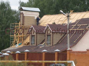 Строительство и монтаж скатной кровли в Днепропетровске