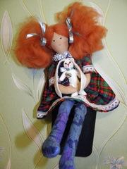 Авторские интерьерные куклы
