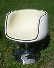 Бежевое полумягкое кресло Яффо,  уцененное
