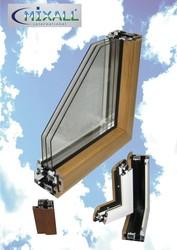 Алюмодеревянные окна Perla,  алюминиево-деревянные окна Днепропетровск