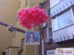 оформление воздушными шарами