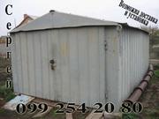 Продам металлический гараж в разобранном виде