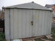 Продам металлический гараж,  толстый металл