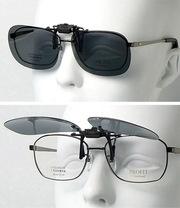 Съемные поляроидные накладки на очки