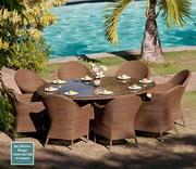 Столы и стулья для сада