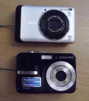 Продам цифровые фотоаппараты  на запчасти
