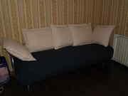 Продам диван с пятью подушками