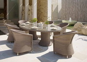 Садовые обеденные столы