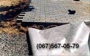 Геотекстиль при укладке тротуарной плитки