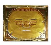 Коллагеновые маски с коллоидным золотом