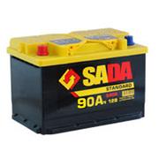 Аккумулятор 6СТ-90 А/ч Sada Standard