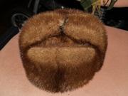 шапка из норки