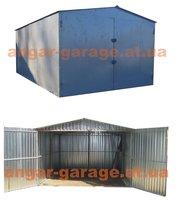 металлический гараж сборно-разборной для легкового авто или автобуса