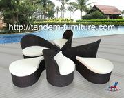 Мебель из ротанга,  лозы и дерева. Кресла-качалки