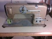 Електрическая швейная машинка TEXIMA в рабочем состоянии Промышленая,