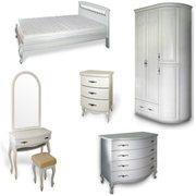 Мебель для спален белая