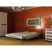Кровать металлическая Лиана