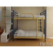 Кровать металлическая Флай-Дуо