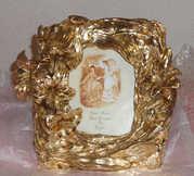 Рамка для фотографии с покрытием 24К золотом