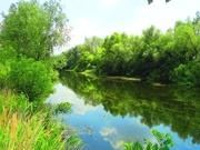 Река ОРЕЛЬ.Участки: 15;  20: 30 соток на берегу(свой берег)