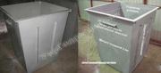 Мусорные баки, Изготовление мусорных контейнеров доставка вся Украина
