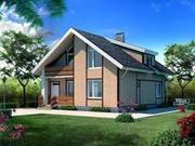 Строительство коттеджей,  загородных домов,  дач,  бань под ключ