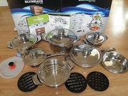 Набор посуды Blumhaus 137 вн 17 предметов