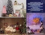 Новогодняя семейная,  детская фотосъемка от Lustre в эксклюзивных декор