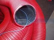 Защитные трубы Копофлекс (KOPOFLEX) для укладки кабеля в земле.