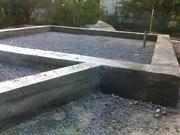 Фундамент, стяжка, бетонные работы