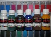 Профессиональная краска для кожи мебели