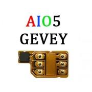 Gevey Aio 5,  R-SIM IPhone 5с, 5s, 5 ios 6-8.2 + ПОДАРОК !!!
