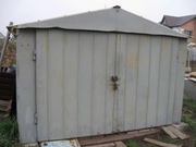 Продам заводской металлический гараж