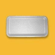 Тарелка - поддон из вспененного полистирола,  подложка,  тара одноразовая