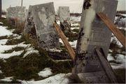 Поднятие и установка упавших памятников. Днепродзержинск и область.