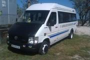 Заказ микроавтобуса по городу и Украине в Днепропетровске