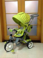 Велосипед Azimut MODI с поворотным сиденьем (зеленый)