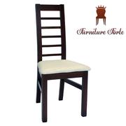 Деревянные стулья со спинкой на кухню,  Стул Леон