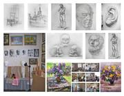 Обучение рисунку и живописи в Днепропетровске для детей и взрослых