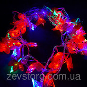Гирлянда 1 Светодиодная — LED Цветы-40