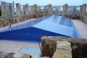 Накрытия для бассейнов, шторы для автомойки,  окна из ПВХ для беседок