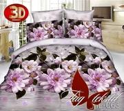 Купить постельное 3Д недорого,  Микросатин HL063