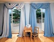 Пошив и дизайн штор для гостиной